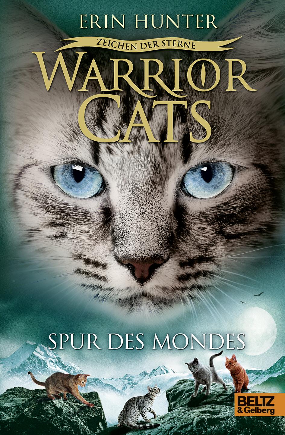 Erin Hunter Warrior Cats Staffel 4//04 Zeichen der Sterne Spur des Mondes