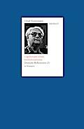 Schriften / Ungehorsam versus Institutionalismus: Deutsche Reflexionen (2)