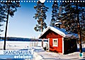 9783665731847 - k. A. CALVENDO: Skandinavien erleben (Wandkalender 2018 DIN A4 quer) - Ein nordischer Wintertraum (Monatskalender, 14 Seiten ) - کتاب