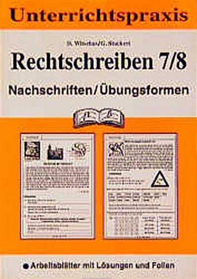 rechtschreiben-nachschriften-ubungsformen-neue-rechtschreibung-kl-7-8