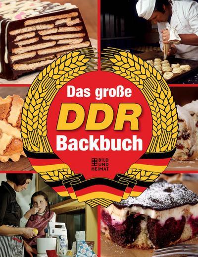 Das große DDR-Backbuch  Deutsch