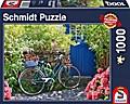 Landpartie mit Rad (Puzzle)