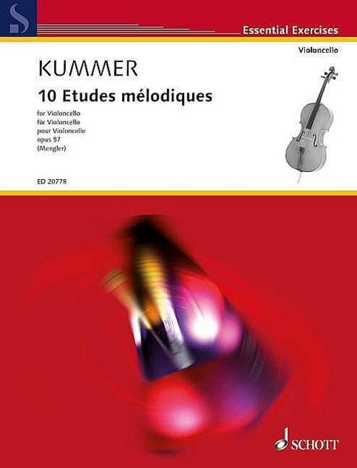 Friedrich-August-Kummer-10-Etudes-melodiques