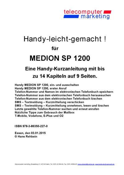 Medion SP1200-leicht-gemacht