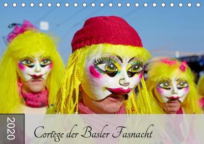 Cortège der Basler Fasnacht (Tischkalender 2020 DIN A5 quer)