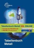Tabellenbuch Metall XXL ONLINE: Tabellenbuch, Formelsammlung und Tabellenbuch Metall 7.0 ONLINE