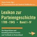 Lexikon zur Parteiengeschichte 1789-1945