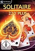 Solitaire 220 Plus. Für Windows XP/Vista/7/8/8.1