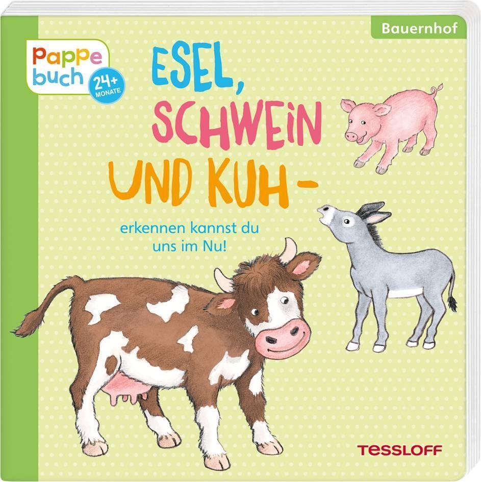 Esel-Schwein-und-Kuh-erkennen-kannst-du-uns-im-Nu-Ida-Wenzel