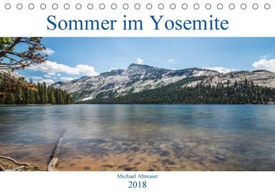 Sommer im Yosemite (Tischkalender 2018 DIN A5 quer)