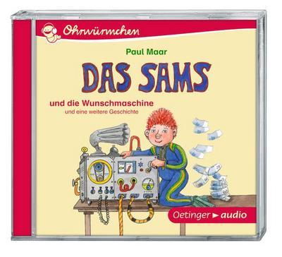 Das Sams und die Wunschmaschine (CD): Ungekürzte Lesungen, 30 min. Das Sams und die Wunschmaschine und eine weitere Geschichte (CD)