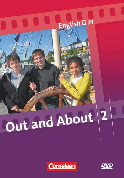 English G 21, Ausgabe A, B und D, Bd.2 : 6. Schuljahr - Out and About, 1 DVD - Cornelsen Verlag - DVD, Englisch, Hellmut Schwarz, 6. Schuljahr, 6. Schuljahr