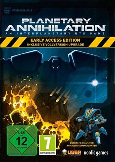 Planetary Annihilation - Early Access Edition - [PC/Mac] - Eurovideo Medien Gmbh - Computerspiel, Deutsch, , An Interplanetary RTS Game. Inklusive Vollversion Upgrade. Für PC / MAC / LINUX, An Interplanetary RTS Game. Inklusive Vollversion Upgrade. Für PC / MAC / LINUX