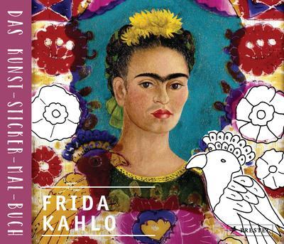 frida-kahlo-das-kunst-sticker-mal-buch