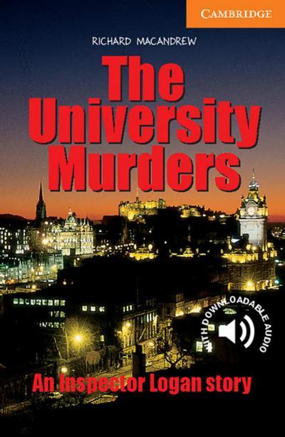the-university-murders-an-inspector-logan-story-englische-lekture-fur-das-3-lernjahr-paperback-w