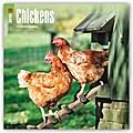 Chickens - Hühner 2018 - 18-Monatskalender