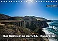 Der Südwesten der USA - Rundreise (Tischkalender 2019 DIN A5 quer)