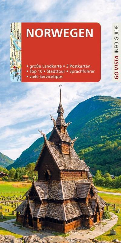 GO VISTA: Reiseführer Norwegen: Mit Faltkarte und 3 Postkarten