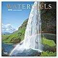 Waterfalls - Wasserfälle 2018 - 18-Monatskalender