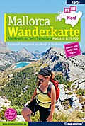 Mallorca Wanderkarte 1:35.000 (Kartenset mit Nord + Süd-Blatt)