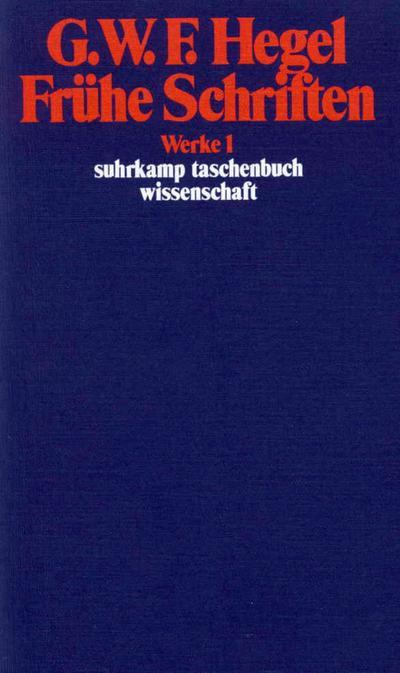 werke-in-20-banden-mit-registerband-1-fruhe-schriften-suhrkamp-taschenbuch-wissenschaft-
