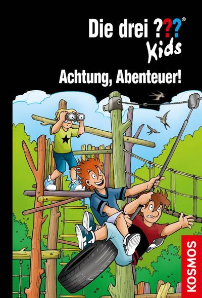 Die drei ??? Kids, 79, Achtung, Abenteuer! - Franckh Kosmos Verlag - Gebundene Ausgabe, Deutsch, Boris Pfeiffer, ,