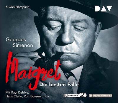 Maigret ? Die besten Fälle: Hörspiele mit Paul Dahlke, Hans Clarin u.v.a. (5 CDs)
