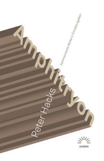 Amphitryon:Kommentierte Werke in Einzelausgaben
