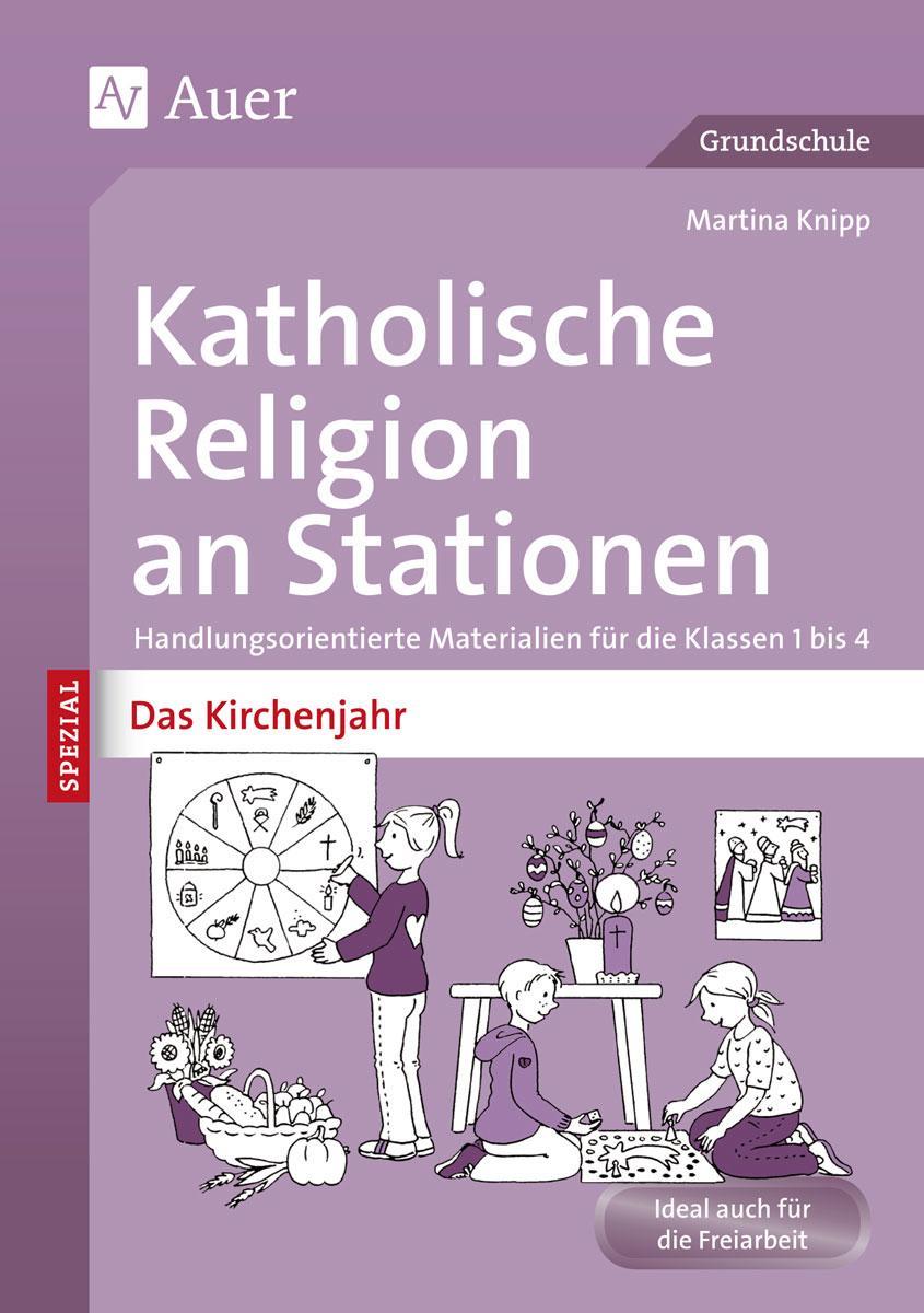Katholische-Religion-an-Stationen-Das-Kirchenjahr-Martina-Knipp
