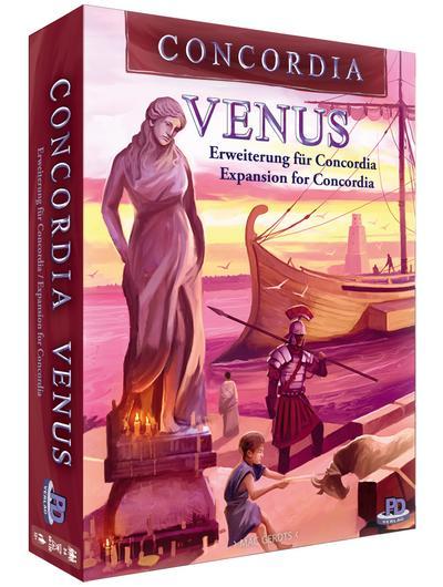 Concordia Venus - Erweiterung (deutsch/engl.) - PD-Verlag - Spiel, Deutsch  Englisch, Mac Gerdts, ,