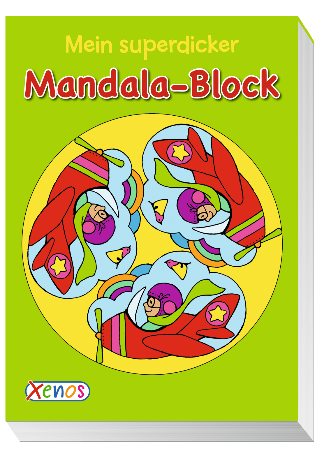 Mein superdicker Mandala-Block Milada Krautmann