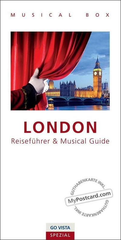 GO VISTA Spezial: Musical Box - London: inklusive Musical Guide, GO VISTA Reiseführer London und Gutscheinkarte