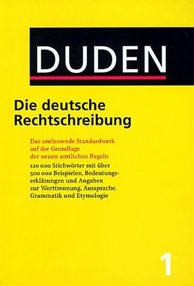 der-duden-bd-1-duden-die-deutsche-rechtschreibung-neue-rechtschreibung