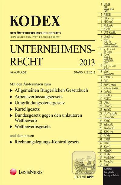 kodex-unternehmensrecht-2013