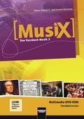 MusiX 3. Multimedia DVD-ROM (Einzelplatzversion). Das Kursbuch Musik 3. Klasse 9/10