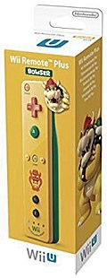 Wii U Remote Plus Bowser Edition