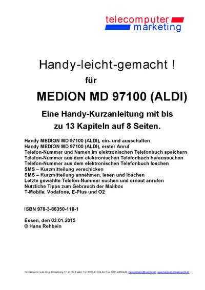 Medion MD 97100 (ALDI)-leicht-gemacht