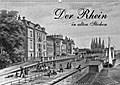 9783665894344 - Martina Berg: Der Rhein in alten Stichen (Wandkalender 2018 DIN A2 quer) - Stahlstiche aus dem 19. Jahrhundert (Monatskalender, 14 Seiten ) - Book