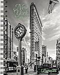 New York 2017 Buchkalender/Diary Deluxe