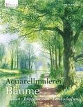 Aquarellmalerei Bäume