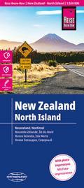 Reise Know-How Landkarte Neuseeland, Nordinsel 1:550.000