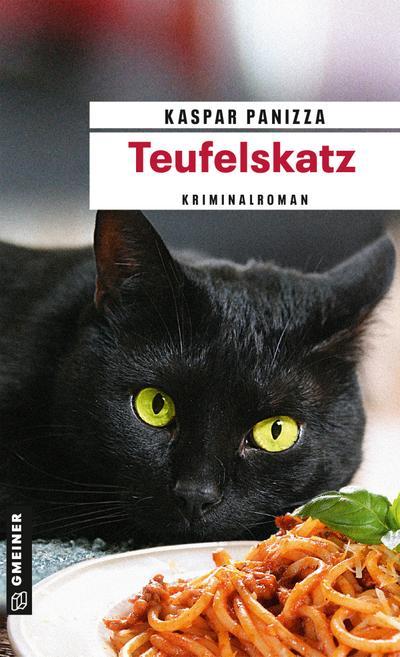 Teufelskatz  Frau Merkel und das fliegende Spaghettimonster  Kriminalromane im GMEINER-Verlag  Deutsch