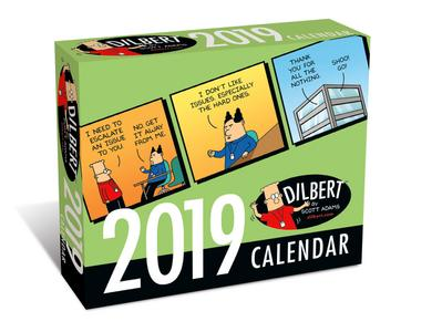 Dilbert by Scott Adams 2019 (Tagesabreißkalender) - Brown Trout - Kalender, Englisch, Andrews McMeel Publisher, ,