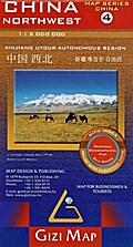 China Northwest (4) Geographical Map 1 : 2 000 000