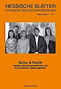 Hessische Blätter für Volks- und Kulturforschung