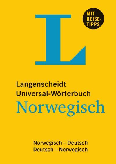 langenscheidt-universal-worterbuch-norwegisch-mit-tipps-fur-die-reise-deutsch-norwegisch-norwegis