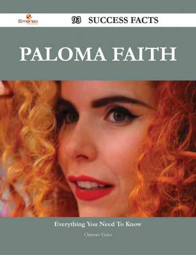 Paloma Faith 93 Success Facts - Everything you need to know about Paloma Faith