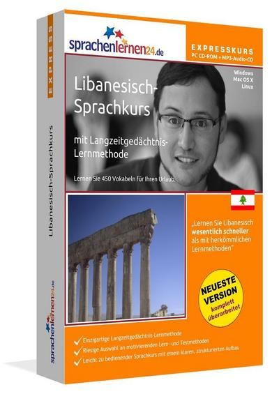 Sprachenlernen24.de Libanesisch-Express-Sprachkurs. CD-ROM