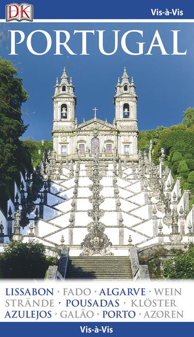 Vis-á-Vis Reiseführer Portugal: mit Mini-Kochbuch zum Herausnehmen