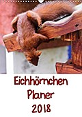 9783665615963 - Carsten Jäger: Eichhörnchen Planer 2018 (Wandkalender 2018 DIN A3 hoch) - Eichhörnchenbilder mit Planer-Kalendarium (Planer, 14 Seiten ) - كتاب